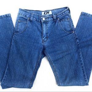 DY Jeans • Vtg Light Wash Straight Leg Mom Jeans